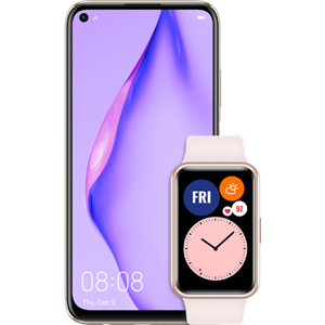 huawei-p40-lite-sakura-pink-uz-watch-fit-pink