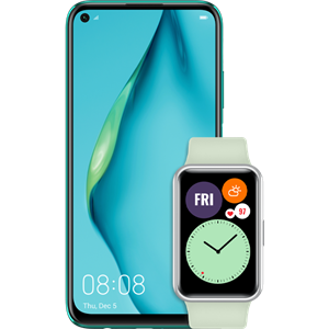 huawei-p40-lite-crush-green-uz-watch-fit-green